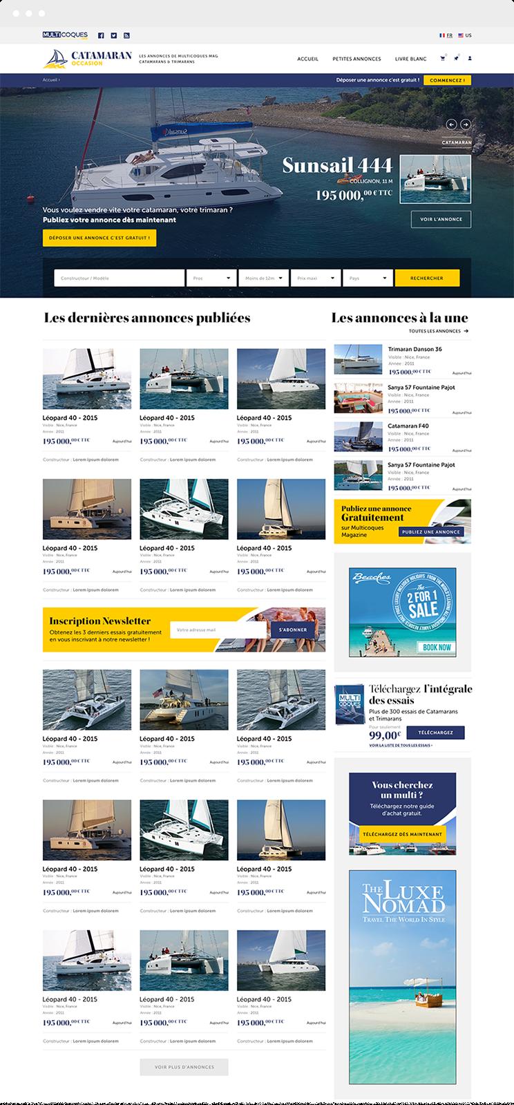 Olistik - Catamaran Occasion