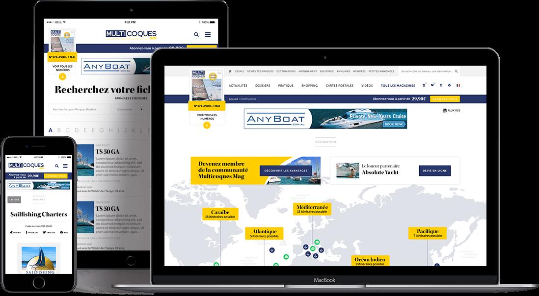 Multicoques Mag vue webresponsive