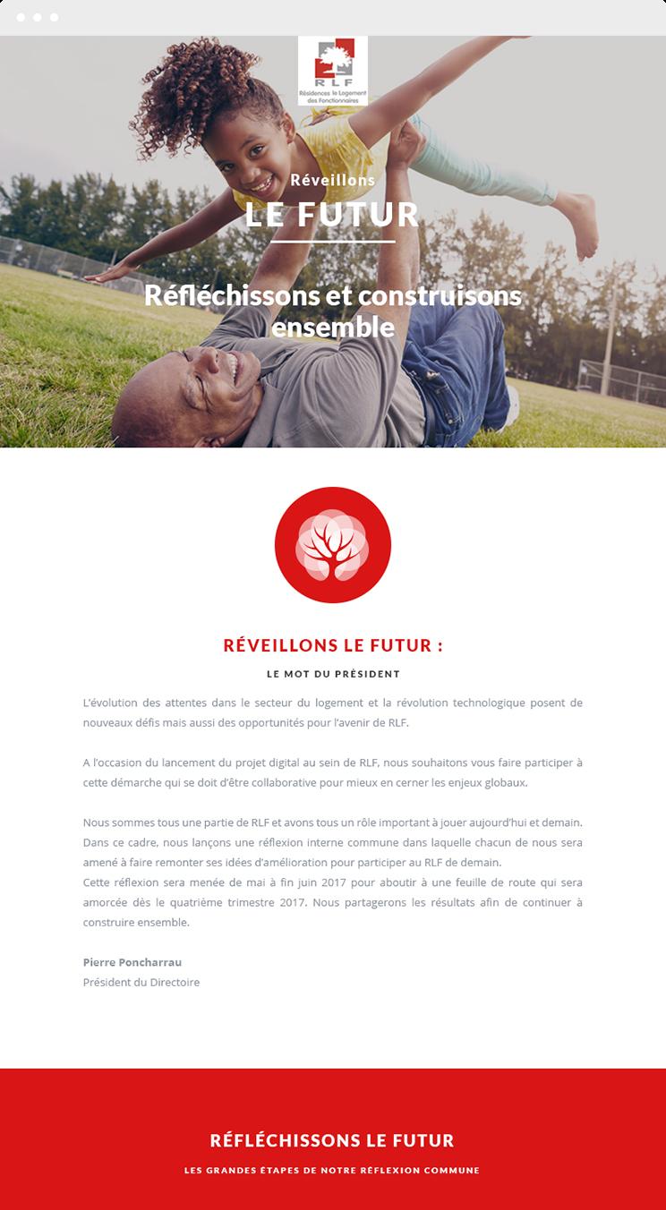 newsletter RLF